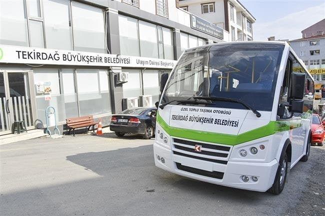 Büyükşehir Belediyesinden Toplu Taşıma Esnafına Destek