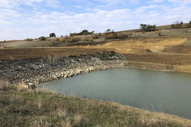 Büyükşehir Belediyesi Hayvan İçme Suyu Göletlerinin Yapımını Tamamladı