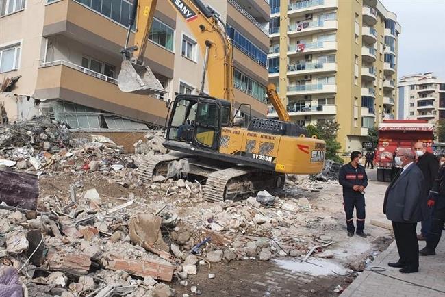 Başkan Albayrak Deprem Bölgesinde