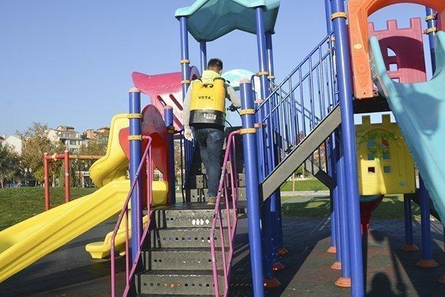 Büyükşehir Belediyesi Dezenfeksiyon Uygulamalarına Devam Ediyor