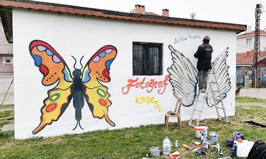 Saray Belediyesi Çevre Düzenleme Çalışmalarını Sürdürüyor