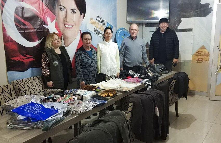 Saray İYİ Parti'nin Hakkârili miniklere hediyeleri hazır