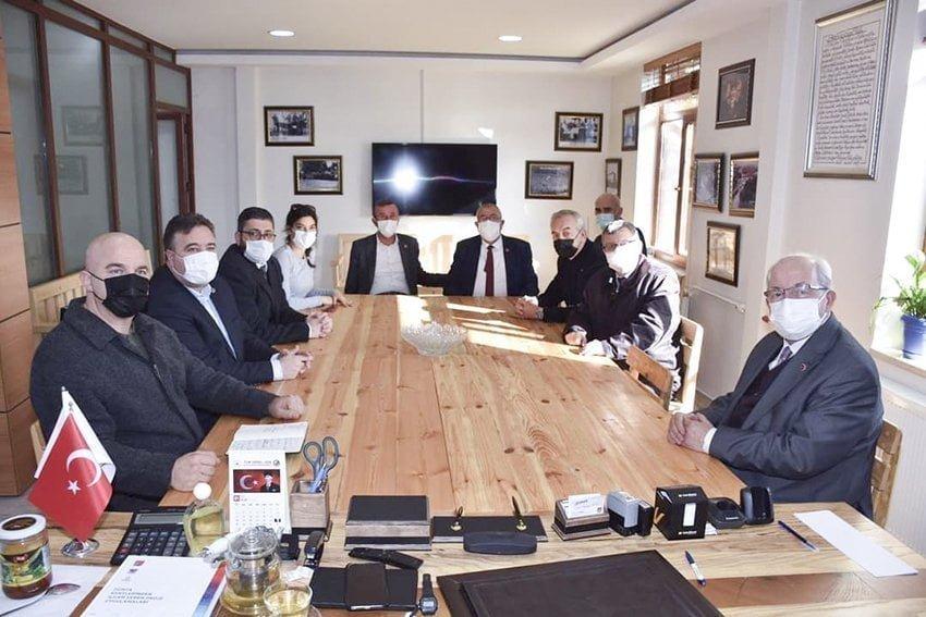 Başkan Albayrak'ın Saray'da Yeni Yılda İlk Mesaisi