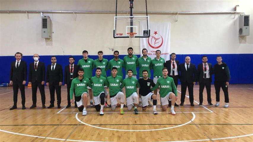Saray Belediyespor Basketbol Takımı Lig'in İlk Yarısını 122-78'lik Skorla Kapattı
