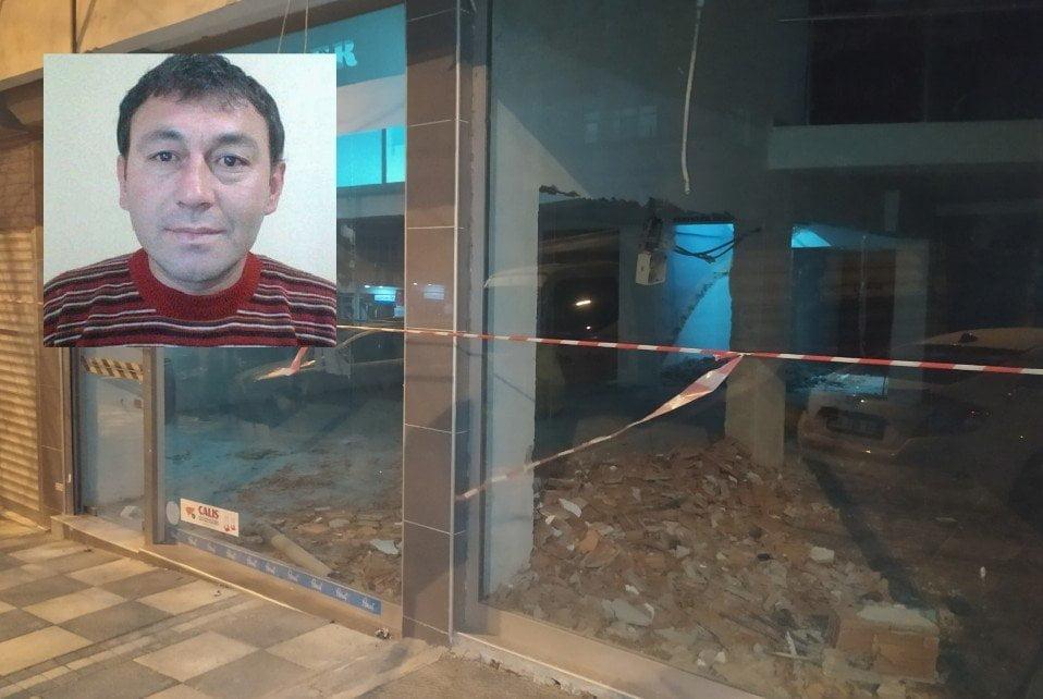 Yıkılan duvarın altında kalan işçi hayatını kaybetti
