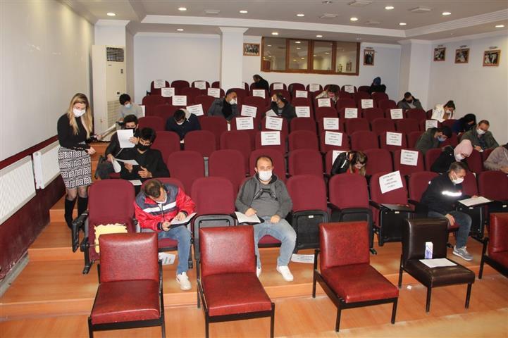 Saray Belediyesinde Toplu İş Görüşmesi Yapıldı