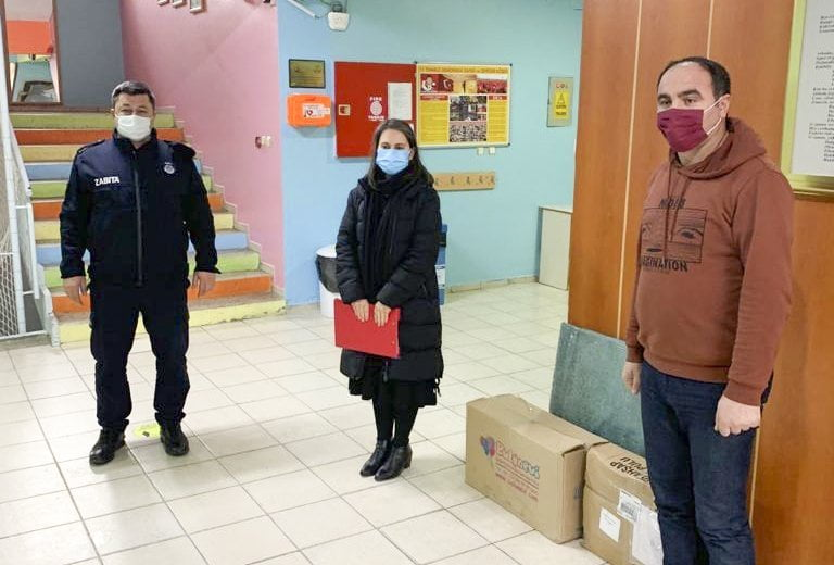 TAP Derneğinden Mehmet Uygun İlkokuluna Ödül