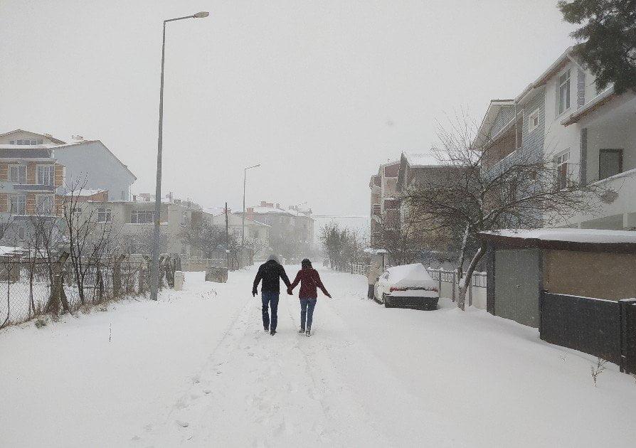 Kar Yağışı Etkisini Sürdürüyor
