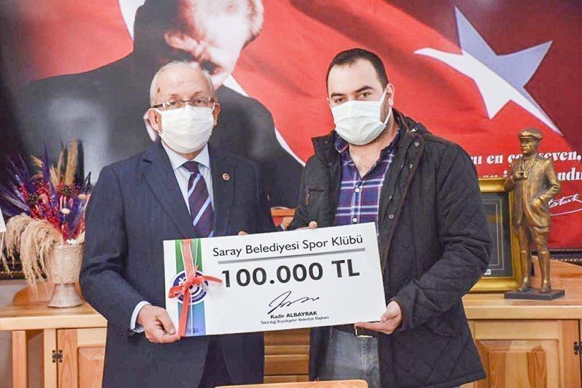 Büyükşehir'den Çorlu ve Saray Belediyesi Spor Kulüplerine Destek