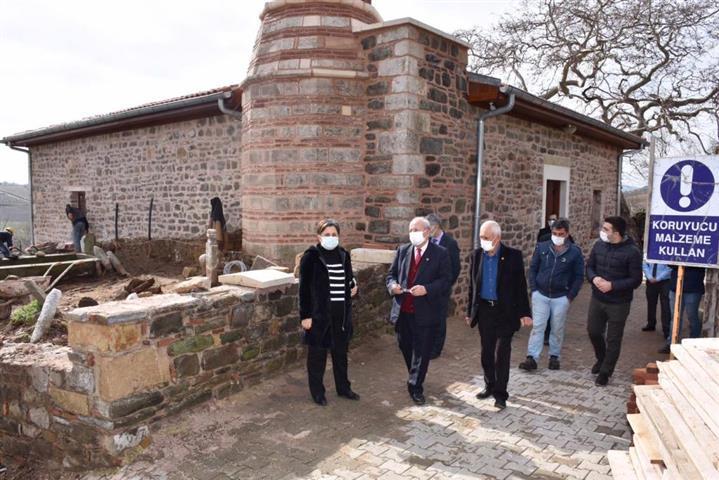 Kültürel Mirasımız Büyükşehir Belediyesi'nin Çalışmalarıyla Gün Yüzüne Çıkıyor