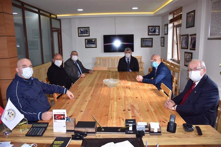 Başkanı Albayrak'ın Saray Ziyareti