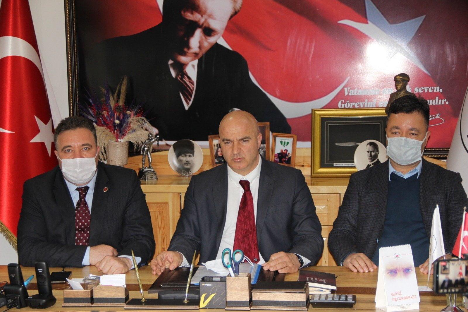 """Başkan Erkiş: """"Saray Turizm Bölgesi Olacak"""""""