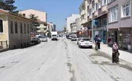 Atatürk ve 1 Kasım Caddelerindeki SBB Beton Yol Çalışmaları Tamamlandı