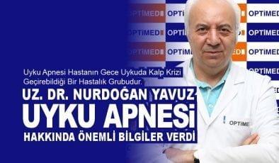 Uz. Dr. Nurdoğan Yavuz Uyku Apnesi hakkında önemli bilgiler verdi