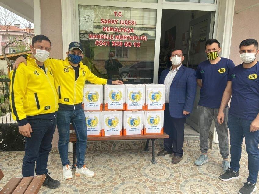 Genç Fenerbahçeliler Gurubundan örnek davranış