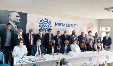 Memleket Partisi Tekirdağ İl Yönetimini Tanıttı