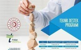 TRAKYAKA 2021 Yılı Teknik Destek Programını İlan Etti