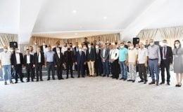 Başkan Albayrak Toplu Taşıma Kooperatif Başkanları İle Bir Araya Geldi