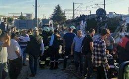 Velimeşe'de tren kazası: 4 Ölü 7 Yaralı